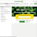 Woolworths 20/4: UBK Tampons $2.34, Poise Pads $3, Oreo $1, Drumstick $4, Buy 6pk Capsules $50 Get Free Coffee Machine ($99 Val)