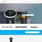 Anova Precision Cooker Sous Vide - Bluetooth or Bluetooth + Wifi $225.99 / $249.99 Delivered