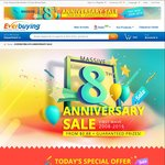Sitewide Discount @ Everbuying ($5 off $29, $9 off $49 + More) (USD)