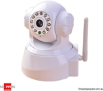 Wireless IP Network Security Camera White - $44.90 Posted @ Shopping Square