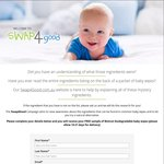 Free Sample of Wotnot Biodegradable Baby Wipes Delivered