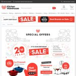 Kitchen Warehouse - Free Delivery on Orders over $29