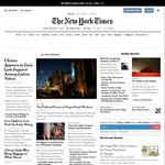 New York Times Free Online Access Nov. 7-9