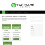 60% off Shared cPanel Web Hosting Plans for Life - Starting from US $7.20 (~AU $9.45) /Yr @ Two Palms Host