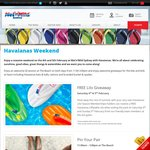 [SYD] FREE Havaianas Lilo (Water Inflatable) for Wet N Wild Season Pass Holder