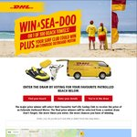 Win a Sea Doo Spark (Includes Trailer and Registration) Worth $9,000 or 1 of 100 DHL Beach Towels