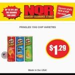 USA Made Pringles (150g) $1.29 @ NQR (VIC)