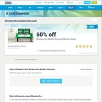 60% off Full Price Pre-Paid Starter Packs to Student Edge Members with Woolworths Mobile