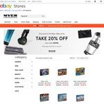 40% off LEGO @ Myer eBay Store