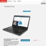 Lenovo ThinkPad E570p $1038 Delivered (i5-7300HQ, 8GB RAM, 128GB SSD, GTX1050ti 2GB)