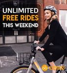 Unlimited Free Rides - Saturday 14/10 and Sunday 15/10 @ oBike [Melb, Syd, Bris, GC]
