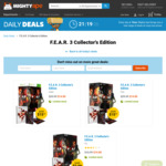 F.E.A.R. 3 Collector's Edition for PC, PS3, Xbox 360 $14 at MightyApe.com.au as DailyDeal