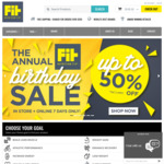 Fit Nutrition Fix Birthday Sale - Up to 50% off Supplements, Protein Powders 20% off ATP Science 15% Off Prana On and RedCon1