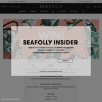 Win 1 of 2 Major Prize Packs Worth $2,200 or 1 of 30 Minor Prize Packs Worth $137 from Seafolly