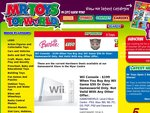Nintendo Wii with Wii Sports $199.00 when you spend $50.00 or more on Wii games