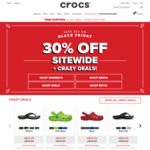 30% off Storewide + Free Shipping on All Orders @ Crocs Australia (Includes Sale Items)