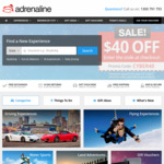 $40 off Everything (Min Spend $199) @ Adrenaline