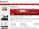 Qantas 90 Hour Sale - Example Mel-LA $1090 Return