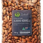 Woolworths - Australian Natural Almonds 750g Pack $9.90, Pepes Frozen Duck 2.4 Kg $12.49, 15% off App Store & iTunes Cards*