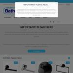 20% off Everything @ Online Bathroomware until Dec 31st