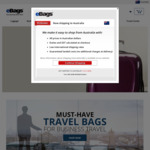 Ebags.com FREE DHL (Economy) SHIPPING to Australia (through Borderfree Check-out)