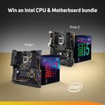 Win 1 of 2 Intel/ASUS CPU & Motherboard Bundles from Scan