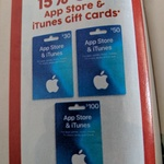15% off Apple App Store & iTunes Gift Cards ($30, $50, $100) @ Target