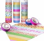 Candygirl Washi Tape Set of 30 Rolls (for Arts and Crafts) $10 + Delivery (Free with Prime/ $49 Spend) @ BB Seller Amazon AU