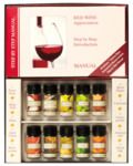 Wine Appreciation Kit Red or White (10 Aromatic Bottles + Manual + Strips + Book) $4.88 Each @ Dan Murphy's