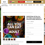 [NSW] All You Can Eat Buffet $18 @ The Colonial British Indian Restaurant in Darlinghurst (Sydney)