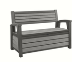 Keter 227L Hudson Outdoor Storage Bench $148 (Was $229)  @ Bunnings