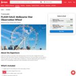 Melbourne Star Observation Wheel Ticket $15 (Valued at $36) @ Scoopon