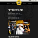 [NSW] Free Burrito Today from 12PM-7PM @ Guzman y Gomez (Kirrawee)