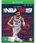 [XB1, PS4] NBA 2K19 $39.95 + Delivery (Free C&C) @ JB Hi-Fi