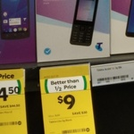 Telstra Lite Prepaid Mobile Phone F327S $9 @ Woolworths
