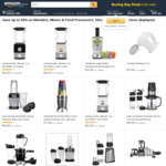 Save up to 50% on Blenders, Mixers & Food Processors @ Amazon AU