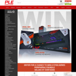 Win a SteelSeries Peripheral Pack Worth Over $300 from PLE