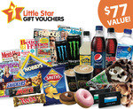 $77 Worth of Vouchers for Mags/Donuts/Choc, Redeemable at Coles Express for $19.95