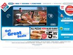 Domino's Traditional Pizza Pickup $5.95