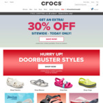 45% off Sitewide (No Exclusions) + Free Shipping @ Crocs Australia