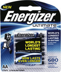 Energizer Ultimate Lithium AA 4 Pack - $10 + Postage/Click & Collect @ The Good Guys