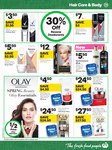 1/2 Price all Olay Skin Care -  Luminous, Regenerist, Total Effects Whip Moisturisers $24.50 @ Woolworths