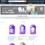 Philips LED Light Bulbs $3.49 + Delivery (Free with Prime / $49 Spend) @ Amazon AU