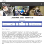 [QLD] Lone Pine Koala Sanctuary Brisbane: Save $5 off Per Adult via Online Booking ($33 Adult, $20 Kids, $22 Concession)