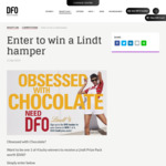 Win 1 of 4 Lindt Chocolate Hampers Worth $500 Each [Open Australia-Wide but Prizes to Be Collected from DFO Moorabbin, VIC]