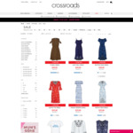 2 for $20 on Selected Clothing @ Crossroads