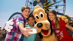 DisneyLand/California Adventure 4 Day Park-Hopper for Price of 3 Days (AU $512.87) through Expedia