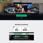 One Month of Kayo Sports Basic $5 @ Kayo Sports
