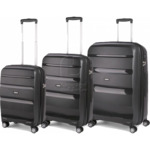 American Tourister Bon Air Deluxe - 3pc Luggage Set (Black) $235 Delivered @ Luggage Gear