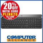Logitech Craft Wireless Keyboard $183.20 + $15 P&H (Free with eBay Plus) @ Computer Alliance